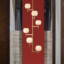 Luxury Crystal Chandeliers Living Room Loft Decor Lighting Led Chandelier Dining Study Reading Modern Nordic Art