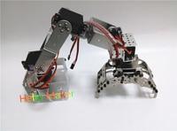 הלו יצרנית H415 Abb התעשייתי זרוע מכאנית רובוט 100% מתלה זרוע סגסוגת שש מעלות של רובוט חופש עם 6 Servos
