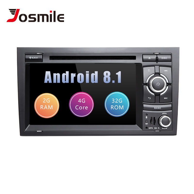 Car Multimedia Player 2 Din Android 8.1 Per Audi A4 B6 B7 S4 B7 B6 RS4 Seat Exeo 2002- 2008 RS4 B7 Radio 2008-2012 di Navigazione GPS