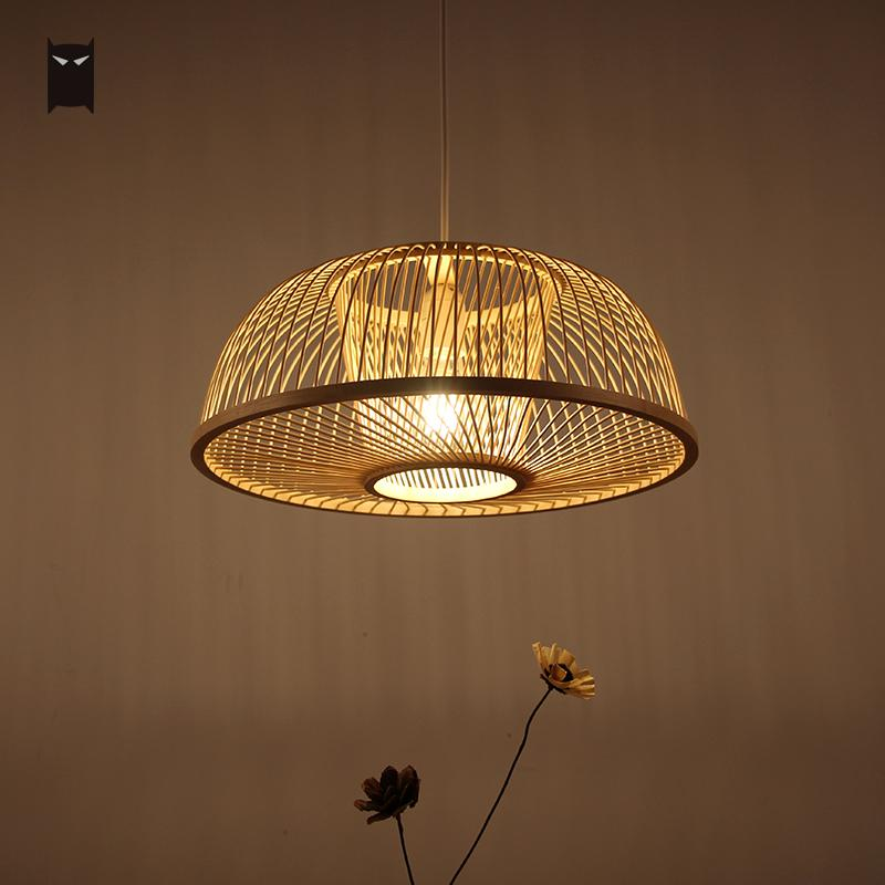 Rattan Pendant Light Fixtures