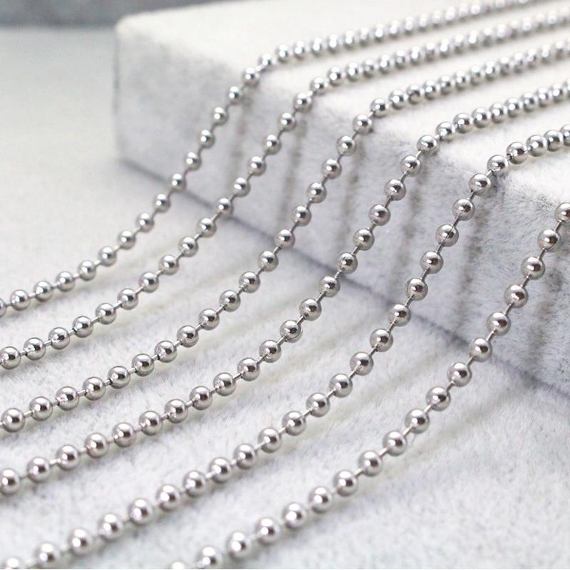 stainless steel 60cm  men women necklace  9 pcs/lot  freeshipping