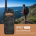 IP67 Водонепроницаемый портативной рации Zastone Цифровой DMR UHF 400-470 МГЦ рация DP880 двухстороннее радио
