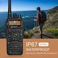 Zastone IP67 A Prueba de Agua walkie talkie DMR Digital DP880 UHF 400-470 MHZ Portátil radio de Dos vías de radio
