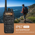 Zastone IP67 Waterproof walkie talkie Digital DMR UHF 400-470MHZ Portable radio DP880 Two way radio
