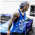 Mens sexy cotton tank top men Sleeveless tops bodybuilding clothing  vest fitness Big Size Fit 100KG shirt muscle loose