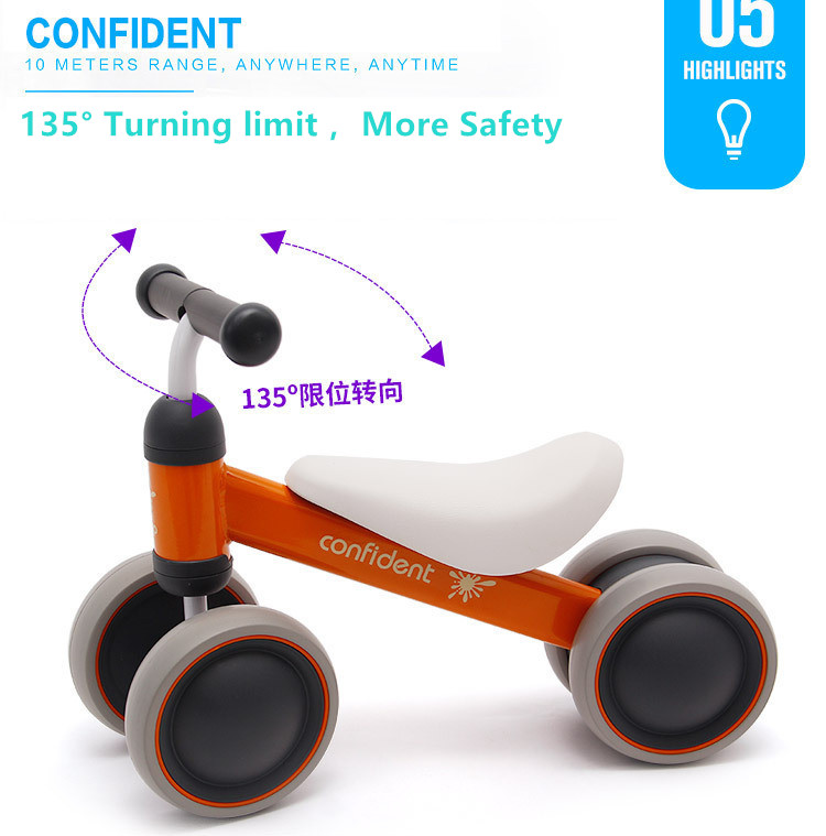 HTB1p4OCmX9gSKJjSspbq6zeNXXaS New brand children's bicycle balance scooter walker infant 1-3years Tricycle for driving bike gift for newborn Baby buggy