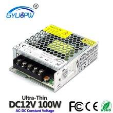 Светодиодный импульсный источник питания DC12V DC24V 15 Вт 24 Вт 36 Вт 48 Вт 60 Вт 72 Вт 100 Вт 120 Вт источник питания трансформатор переменного тока в постоянный ток 12 в 24 В SMPS