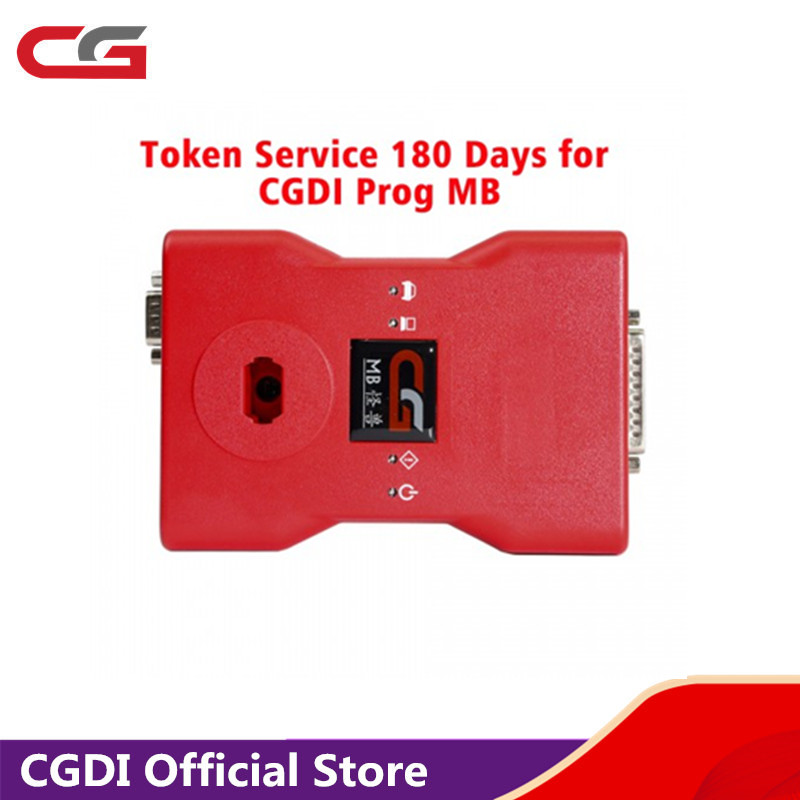 Token Service 180 Days For CGDI MB Prog For Mercedes-Benz Car Key Programmer Get 2 Tokens Per Day In 180 Days Add In 24 Hours