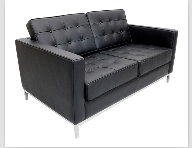 florence sofa with real leather for 2 seater black office sofachina mainland cheap office sofa