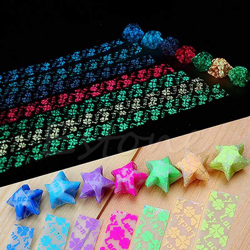 80pcs Origami Lucky Star Papers Quilling Art DIY Mixed Origami ... | 800x800