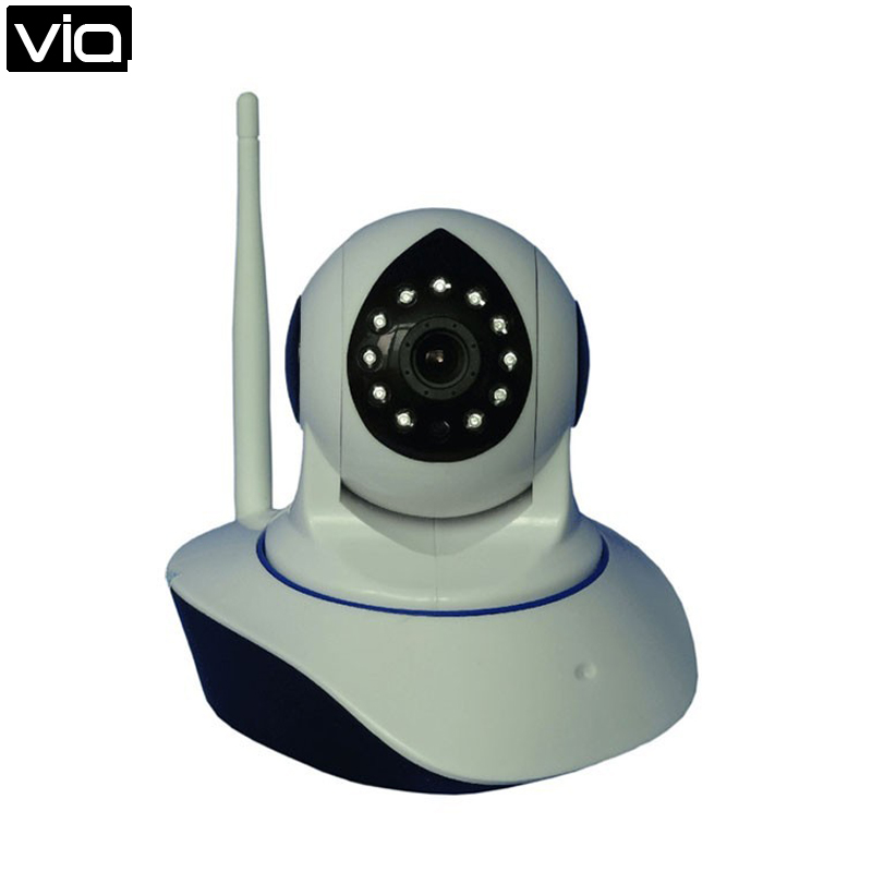 HS-103-HD Free Shipping 64GB P2P HD Rotating 720P Two Way Audio SD Card Slot Phone calls Alarm free shipping p2p 720p 1mp hd plug