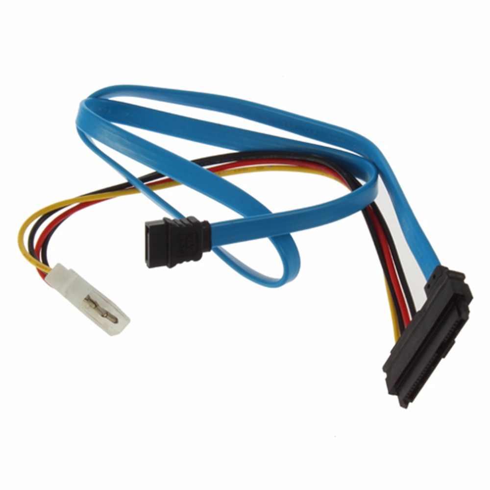 drop shipping connector adapter 7 pin sata serial ata to sas 29 pin 4 pin  [ 1000 x 1000 Pixel ]