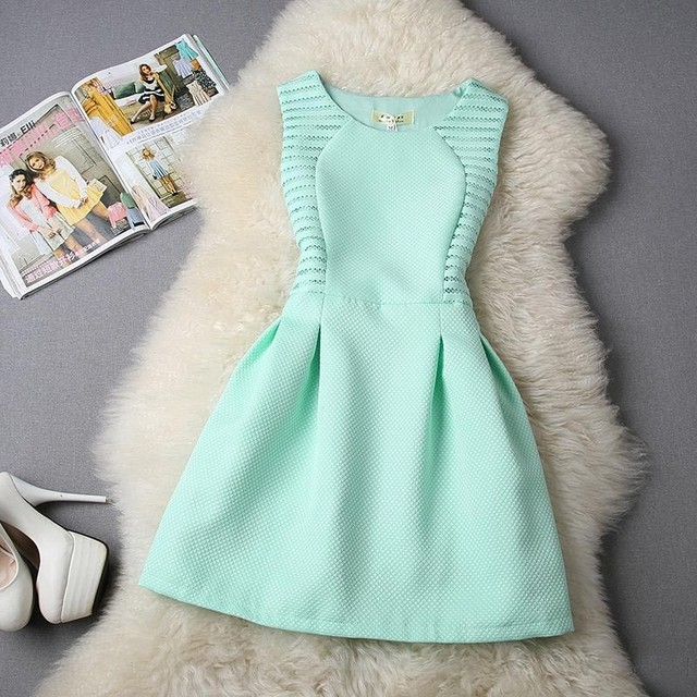 Summer Style Women Dress 2016 Summer Dress Party Evening Elegant A-Line Mini Lace Bodycon Casual Party Dresses Sundress Vestidos