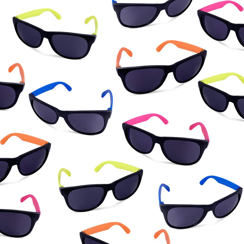 Beach Toys Sunglasses, Neon Party Sunglasses, Bulk Pool Party Favors, Beach Party Favors Toys For Kids Teens Adults