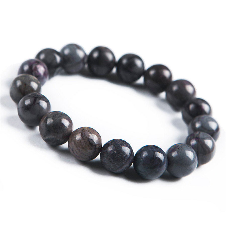 Natural Purple Sugilite Round Stone Beads Women Crystal Jewelry Stretch Bracelet 12mm 9mm genuine sugilite bracelets for female women natural stone round beads crystal jewelry bracelet