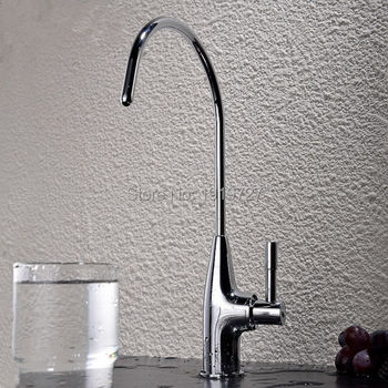 New Arrival Wholesale Replacement Tap Mode Style C Shape Vented Amway Ceramic Disc Water Filter Faucet Tap image