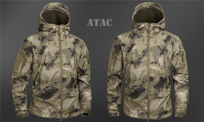 HTB1p4QQasrrK1RjSspaq6AREXXaM MEGE Men's Military Camouflage Fleece Tactical Jacket Men Waterproof  Softshell Windbreaker Winter Army Hooded Coat Hunt Clothes