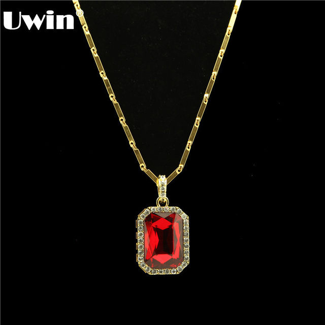 Online shop top fashion mens big square stone pendant with gold top fashion mens big square stone pendant with gold color necklace more color stone available necklace for men 2016 newest aloadofball Gallery