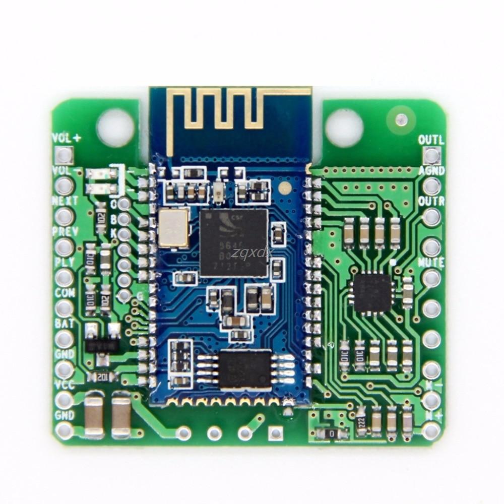CSR8645 APT-X HIFI Bluetooth 4,0 12 V junta receptor para coche altavoz AMPLIFICADOR DE JULIO DE DropShip