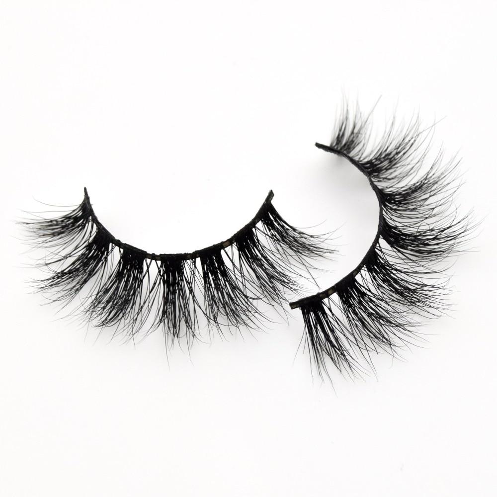 Visofree Eyelashes Mink Eye Lashes Crisscross False Eyelash Cruelty Free 3D Mink Eyelashes Makeup Maquillaje Profesional D108