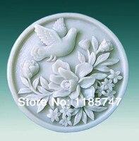 Darmowa wysyłka magpie wzór mydło mydło formy w kształcie zwierząt rzemiosła mold