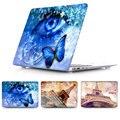 Романтический эстетическая картина Эйфелева Башня Воздуха 11 12 13 Твердый Переплет печати Чехол для Apple MacBook Pro 13 15 Retina Голубой глаз Shell