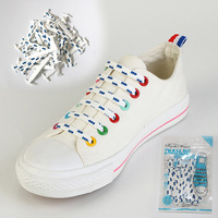 16Pcs New Design Fashion Hot Sale Women Men Athletic Running No Tie Shoelaces Elastic Silicone Shoe
