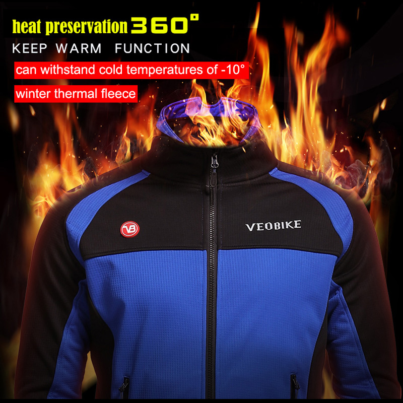 Waterproof Wind Coat Pro Team Cycling Set Men Bike Clothing Windproof Mens Motorcycle Jacket Winter Thermal Fleece Running Suit in Cycling Sets from Sports Entertainment