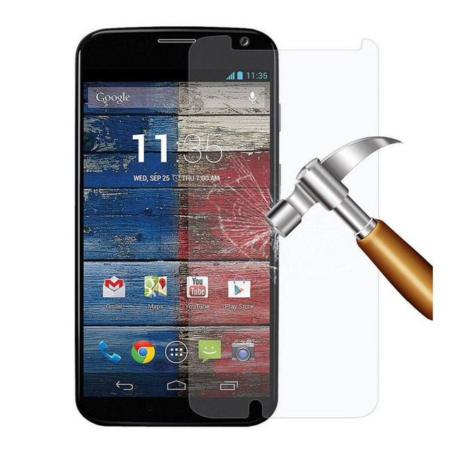GerTong Premium Tempered Glass Film for Motorola Moto X2 E E2 G G2 G3 xplay X Style Screen Protector Toughened Glass