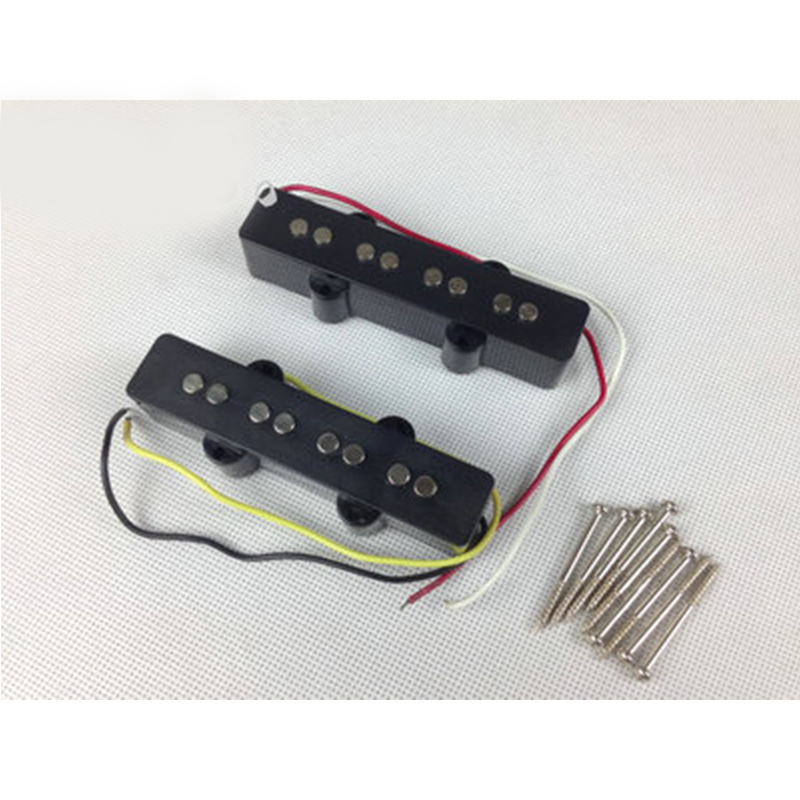 4 string bridge pickup black for jazz bass replacement black open style tool parts in power tool. Black Bedroom Furniture Sets. Home Design Ideas