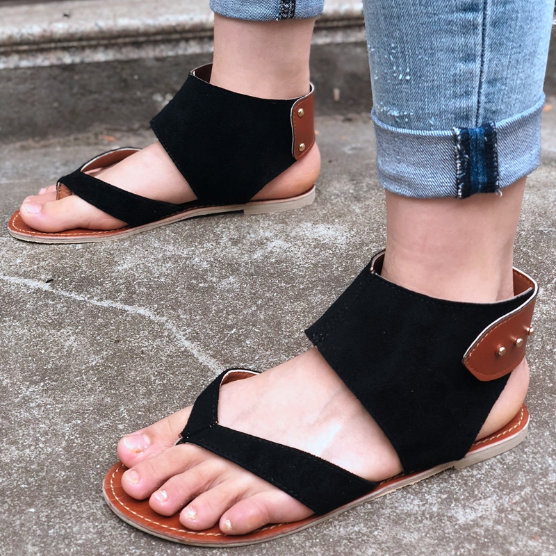 f0e991e5b85 Fashion Element  Cross-tied. Sandal Type  Gladiator Closure Type  Zip Fit   Fits true to size