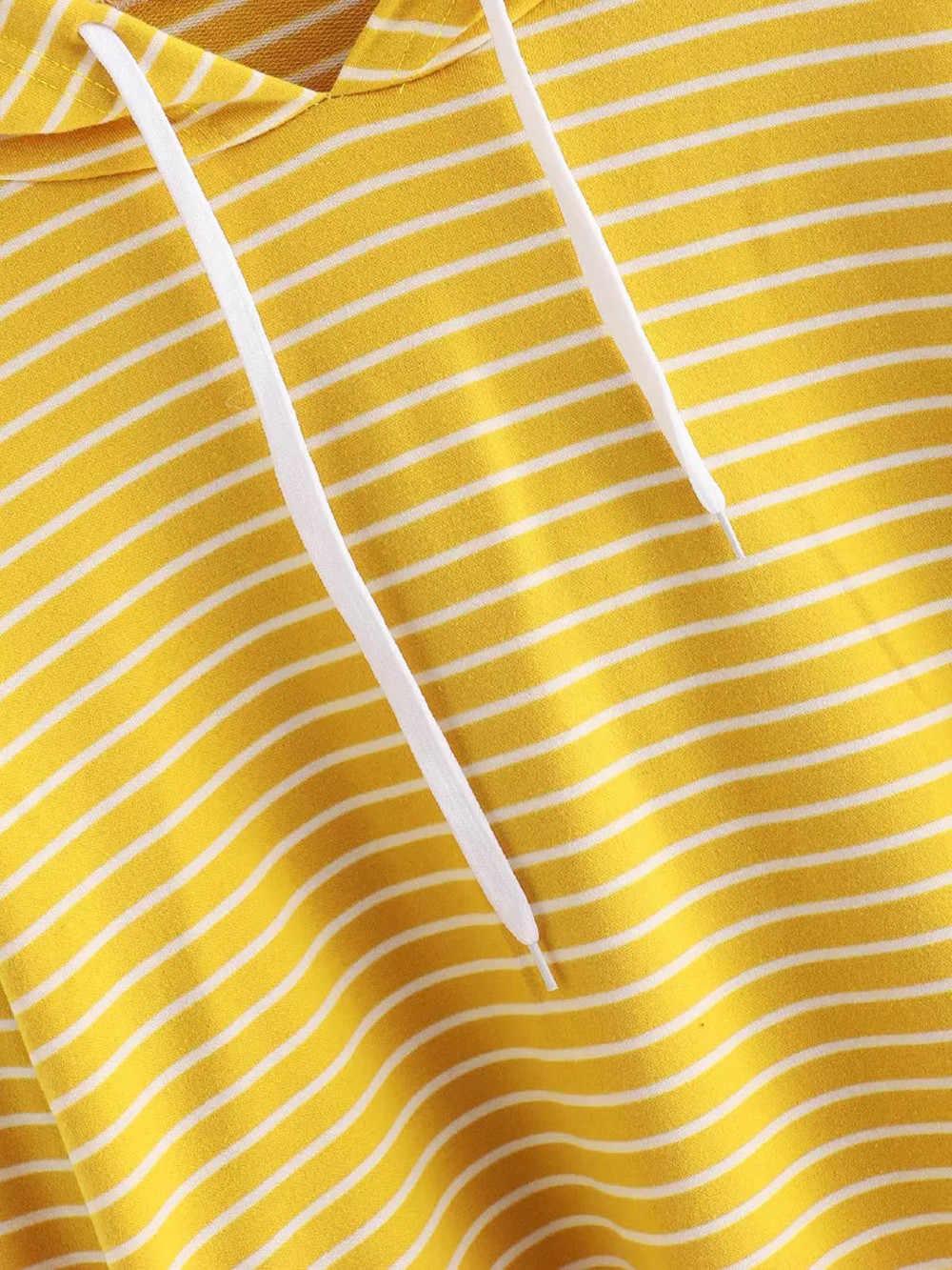 ファッション女性トレーナー長袖 Tシャツストライプパーカー 7 分丈女性のため 2019 カジュアルトップスブラウス sudadera mujer