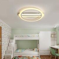 Modern Kids Room LED Ceiling Lights AC85 260V Rings Lampara De Techo Children Room Decor Lighting