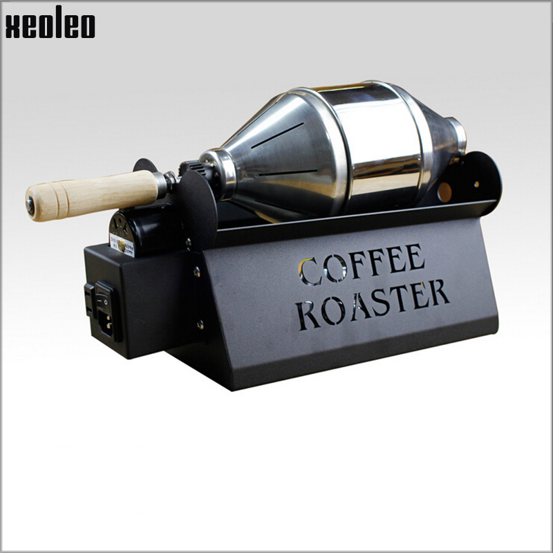Xeoleo Commercial Coffee Roasters Home Use Coffee Bean Baking Machine Stainless steel Coffee Roaster 800g/hour Coffee Baker commercial coffee roasters coffee bean baking machine stainless steel coffee roaster 800g hour coffee baker rt 200 1pc