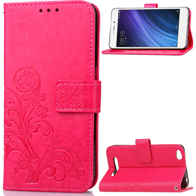buy popular 52036 9ddde US $4.99 |Aliexpress.com : Buy Phone Protective Case For Xiaomi Redmi 4A  Flip Cover Wallet Leather Mobile Bags Skin Fundas For Red mi 4A Case With  ...