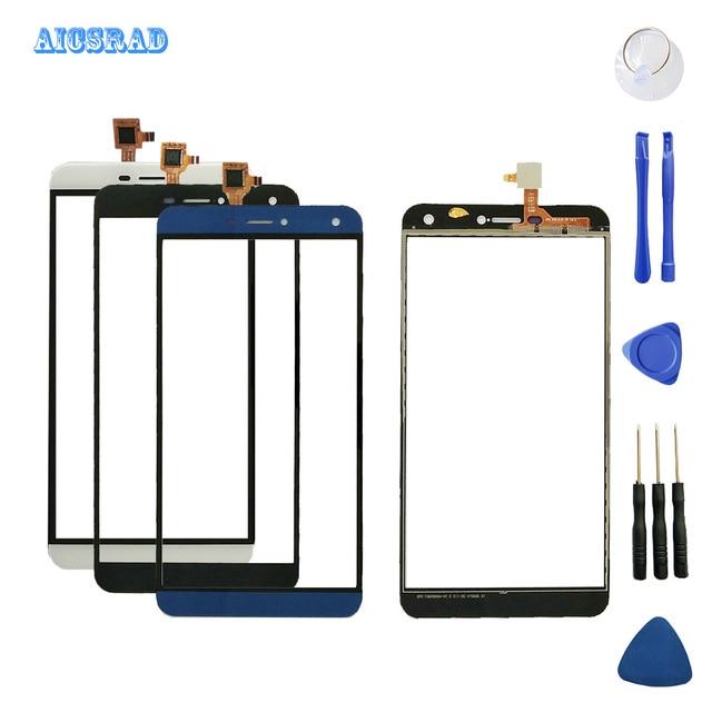 AICSRAD המקורי TP עבור oukitel u11 בתוספת מגע מסך עדשת חיישן u11 + מגע החלפת פנל u11 בתוספת נייד טלפון אבזרים