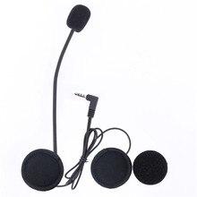 Горячая Микрофон Динамик Наушники и Аксессуары Клип ТОЛЬКО Костюм для V6/V4 Moto Bluetooth Шлем Интерком-Гарнитура BT Переговорные