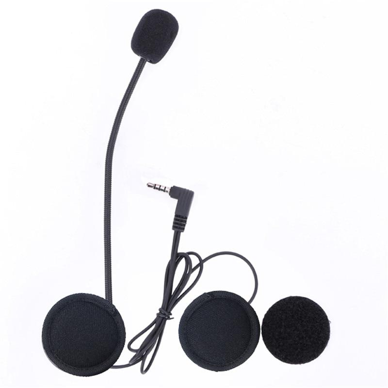 Hot Microphone Headphone Speaker&#038;Clip Accessories ONLY Suit for V6/<font><b>V4</b></font> Moto <font><b>Bluetooth</b></font> Helmet Intercom Headset <font><b>BT</b></font> Interphone