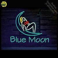 Işıklar ve Aydınlatma'ten Neon Ampuller ve Tüpler'de Mavi Ay Bar kız Neon Burcu neon Işık Burcu cam tüpleri Ticari Rekreasyon Depo Odaları Işık Ikonik Neon işaretleri satış