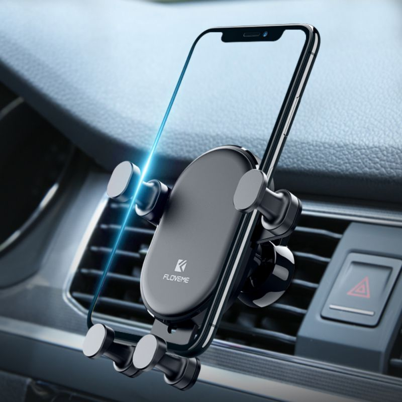 Gravity Car Phone Holder For iPhone X XS Max XR Air Vent Mount Car Holder For Samsung S9 OPPO Phone Stand Telefon Tutucu