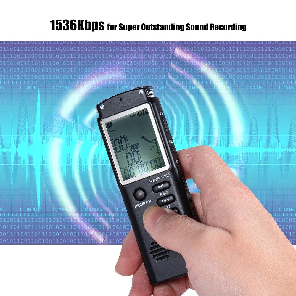 8 ГБ 1536 кбит/с аудио Цифровые диктофоны MP3 плеера Телефонный звонок Регистраторы диктофон телефонный разговор Запись
