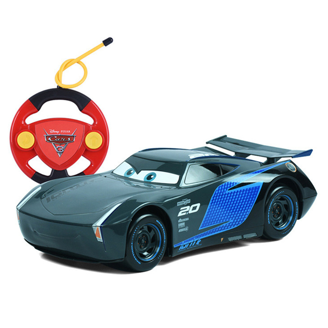 disney pixar cars cars 3 lighting mcqueen jackson storm remote control plastic model car kids christmas toys gifts for boys