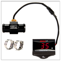 Scooter And Racing Motorcycle KOSO Water Temperature For XMAX250 300 NMAX CB400 CB500X Water Temp Sensor Adapter With Stents