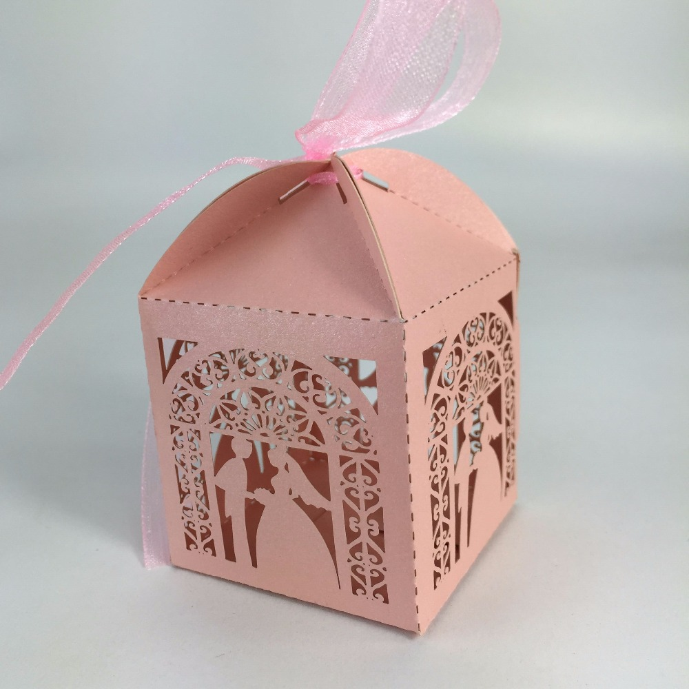 Handmade Bulk Paper Fancy Mini Gift Wedding Favors Candy Box ...