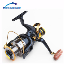 BlueSardine Quality Large Fishing Reels 6000 10 BB Casting Reels Metal Baitcast Reel Big Fish Reels Pesca Drop Shipping