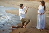 Модное кружевное пляжное свадебное платье для беременных романтическое белое платье для выпускного вечера Vestido de Noiva