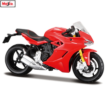 Maisto 1:18 16 styles Ducati Bell speed original authorized simulation alloy motorcycle model toy car gift collection