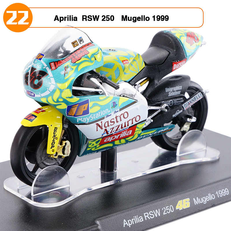 1/18 Scale VALENTINO ROSSI NSR 500 NO 46 test Jerez 2001 Motorcycle Vehicle  Model Kids Gifts Favors Children's Toys