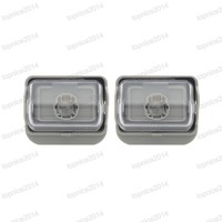 1Pair Rear Bumper License Plate Light Number Plate Lamps GJ6A 51 270B For Mazda 6 2002 2005