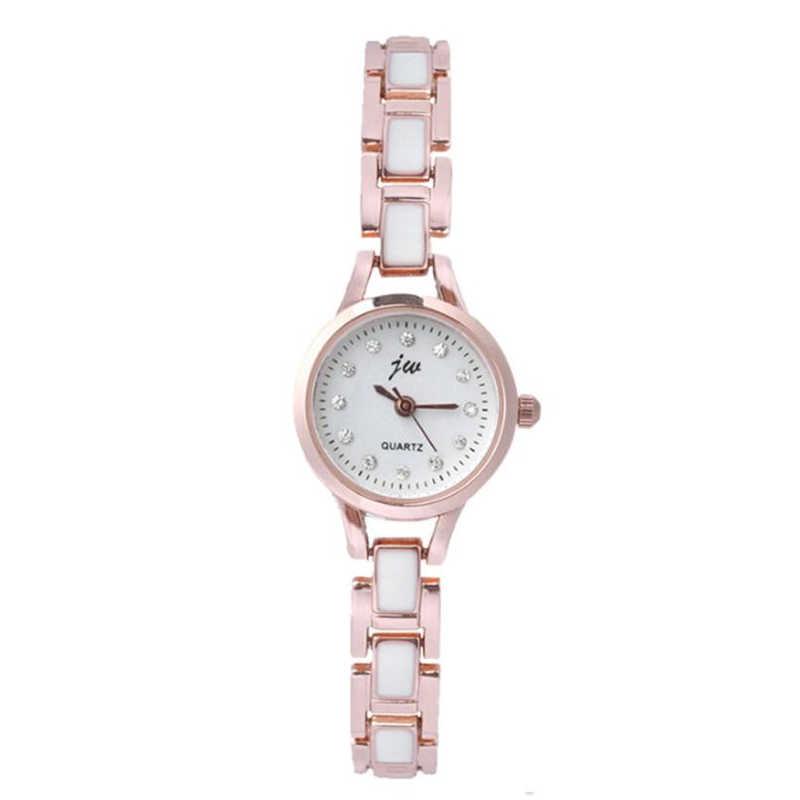נשים שעונים יהלומי הכנס חיוג קוורץ שעון בסדר שרשרת נירוסטה להקת שעון אישה שעוני יד feminino Dropshipping 40